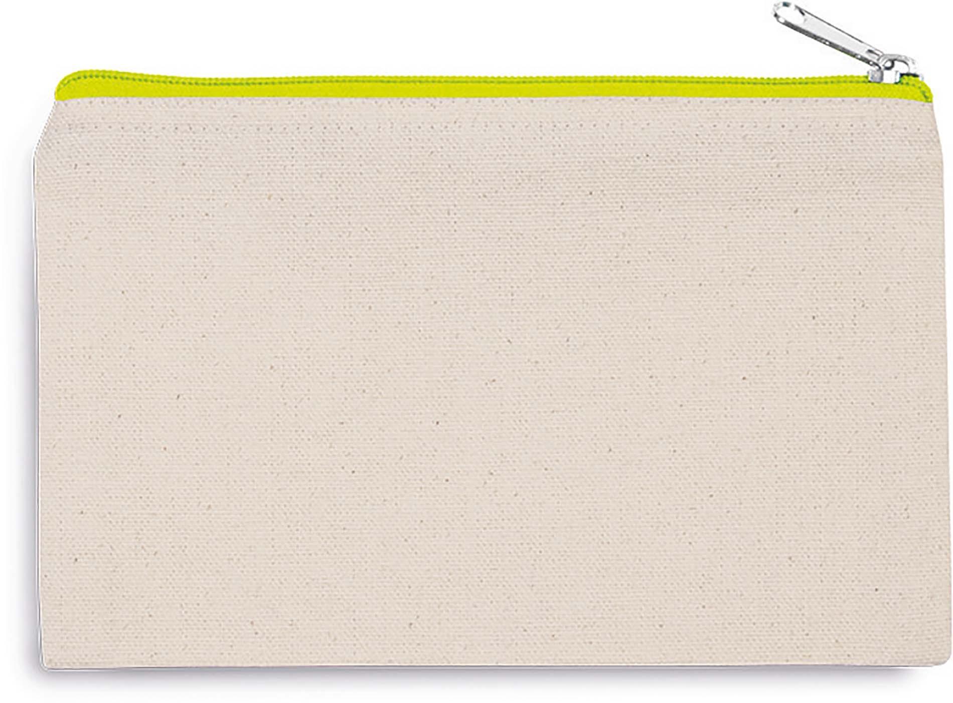 Pochette en coton canvas - petit modèle