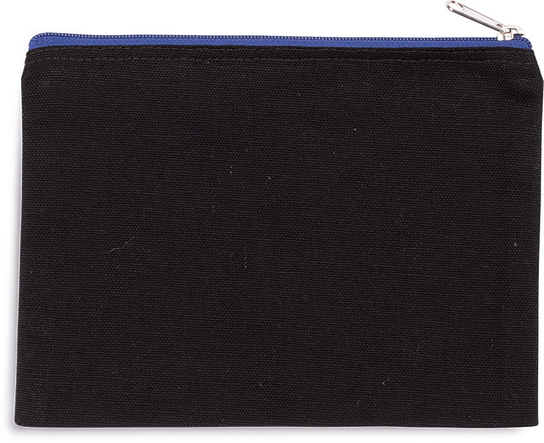 Pochette en coton canvas - modèle moyen