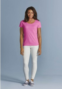 T-Shirt Femme col bateau Softstyle