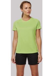 T-shirt de sport à col rond recyclé femme
