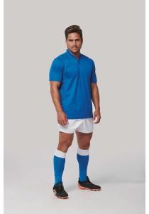 Maillot de rugby bi-matière manches courtes unisexe