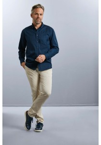 CHEMISE HOMME MANCHES LONGUES TWILL