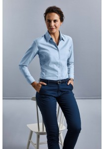 CHEMISE FEMME MANCHES LONGUES OXFORD