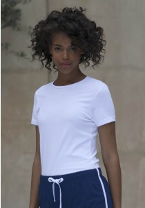 T-SHIRT FEMME COL ROND FEEL GOOD