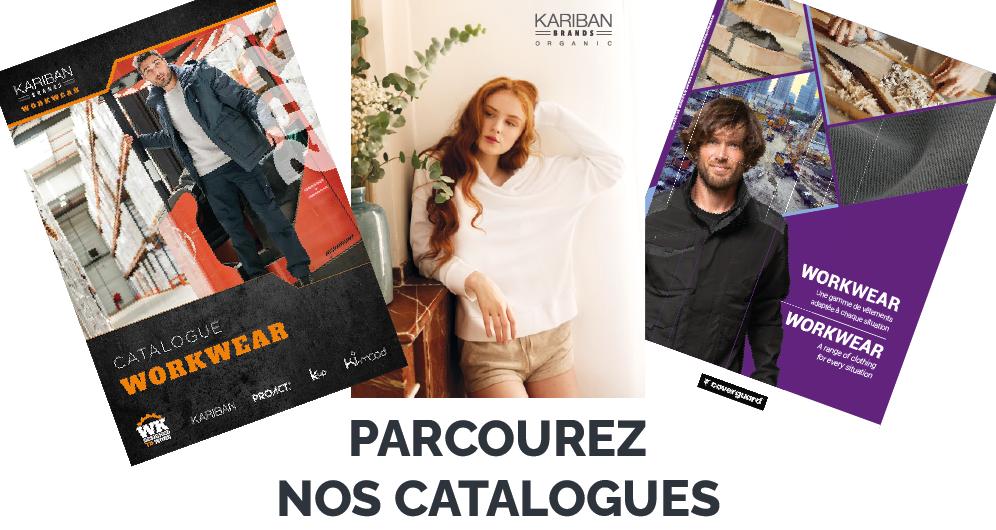 Parcourez nos catalogues